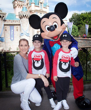 Celine Dion's Twins Celebrate Their Sixth Birthday at Disneyland