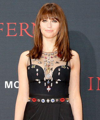 "Inferno's Felicity Jones on Her Red Carpet Style Streak: ""I Like to Feel That Va-Va-Voom"""