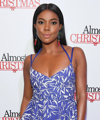 Gabrielle Union Throws It Back to Summer in a Strappy Cobalt Dress
