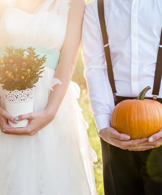 These IRL Halloween Weddings Are Hauntingly Beautiful