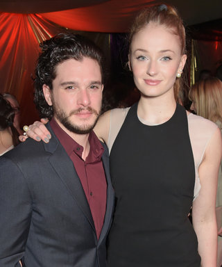 "Kit Harington and Sophie Turner Had an Intense ""Pout Off"" and We Can't Decide a Winner"