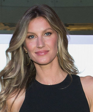 Gisele Bündchen Sizzles in a Black and White Cutout Dress for Pantene Institute Launch in Mexico