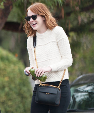 Emma Stone Is Ready for Fall in Her Latest Street Style Look