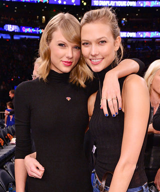 Taylor Swift and Karlie Kloss Generate BFF Envy with a Cute Photo from Drake's Birthday Bash