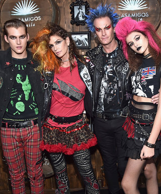 Cindy Crawford and Her Family Pull Off the Ultimate Group Costume