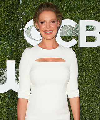 Katherine Heigl Shows Off Her Baby Bump in Relaxed Separates