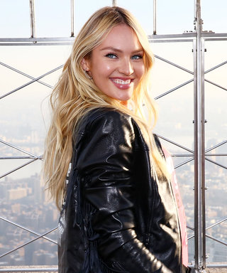 Candice Swanepoel and Her Newborn Son Are #Twinning in Matching Sneakers