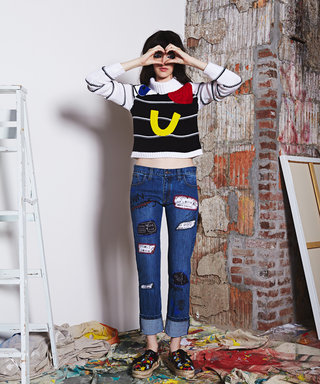 Why We're in Love with Alice + Olivia's Basquiat-Inspired Fashion Collection