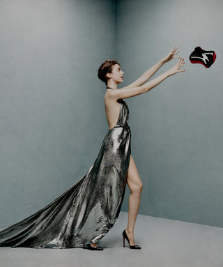 """Christian Louboutin's Twin Peaks-Themed Clutch Has Signature Red """"Soles"""""""