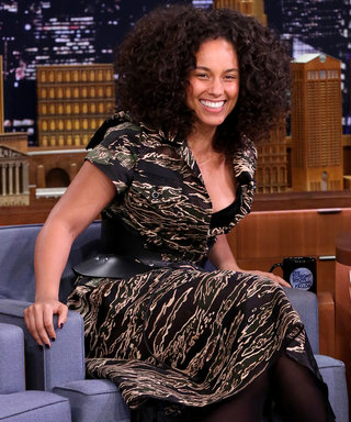 Alicia Keys Is Stunning Makeup-Free on the Tonight Show