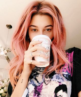 Hailey Baldwin Dyed Her Hair a Gorgeous Shade of Pink