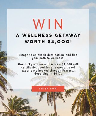 Don't Miss Out on Entering to Win $4,000 Toward Your Dream Wellness Trip