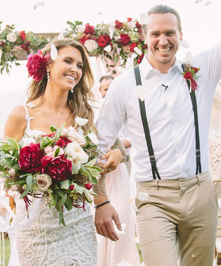 Audrina Patridge Ties the Knot in Romantic Hawaiian Beachfront Ceremony