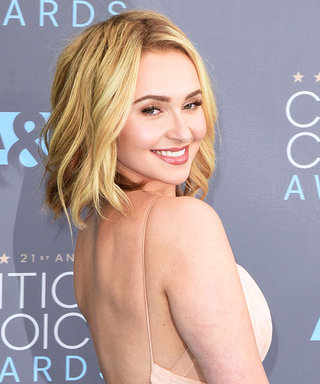 Hayden Panettiere Looks Happy as a Clam Floating in the Dead Sea