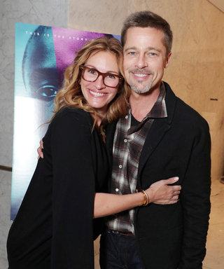 Brad Pitt Attends First Post-Split Event, Alongside Julia Roberts