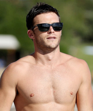 Shirtless Scott Eastwood Shows Off His Rippling Muscles in Australia
