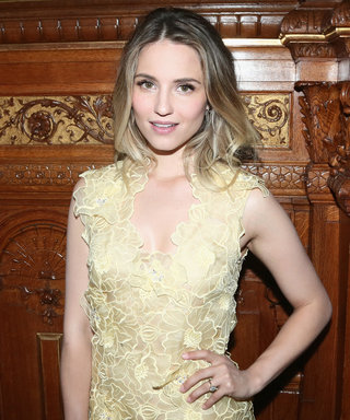 Here's Your First Look at Dianna Agron's Wedding Ring