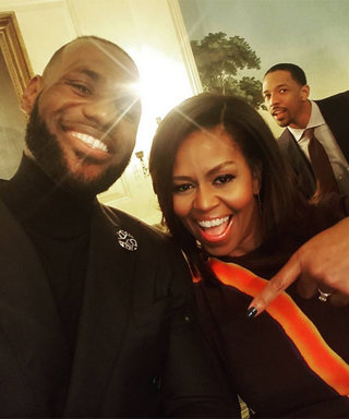 WATCH: Michelle Obama's Impressive Mannequin Challenge with the Cavaliers