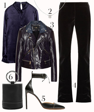 Nail the Navy and Black Trend with This Perfect Day-to-Night Outfit