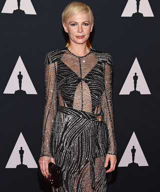 Michelle Williams and Emma Stone Dazzle in Metallic Gowns at the Governors Awards