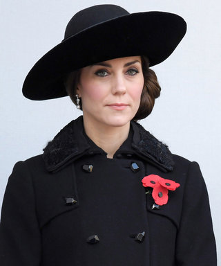 Kate Middleton Dons the Perfect Black DVF Coat for Remembrance Sunday Ceremony