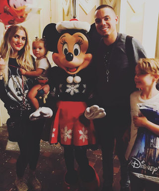 Ashlee Simpson, Evan Ross, and Their Kids Have Magical Day at Disneyland