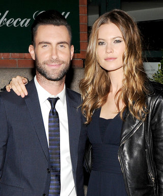 Adam Levine's Love Note to Behati Prinsloo and Dusty Rose Couldn't Be Sweeter