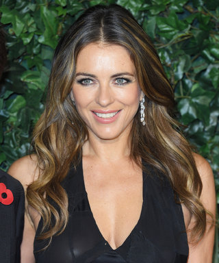 Elizabeth Hurley's and Her Son's TwinningBaby Blues Never Cease to Amaze