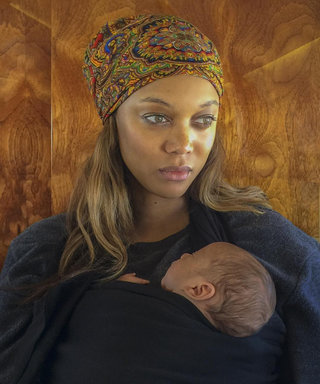 It Looks Like Tyra Banks's Beautiful Son York Has Mama's Eyes