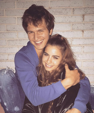 "Ansel Elgort Defines Boyfriend #Goals: ""I Adore My Girlfriend"""