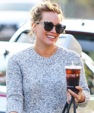 Hilary Duff Masterfully Pairs $58 Earrings with a Luxe Hermès Bag