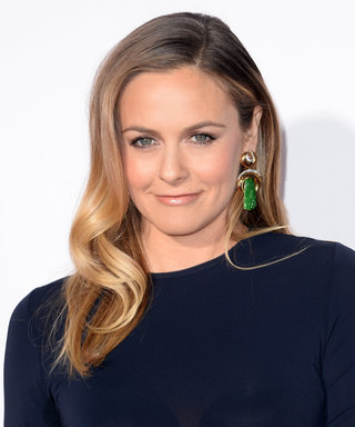 "Alicia Silverstone Strips for PETA's ""I'd Rather Go Naked Than Wear Wool"" Campaign"