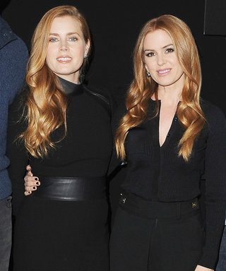 Isla Fisher Replaced Her Face with Amy Adams's on Her Holiday Card