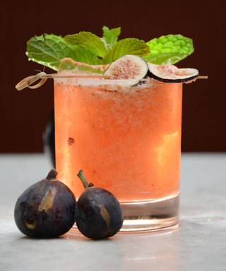 This Fig and Walnut Julep Is Exactly What You'll Want to Serve Up This Fall