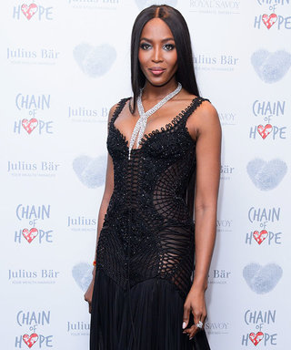 Naomi Campbell Is Dripping With Diamonds as She Walks the Red Carpet