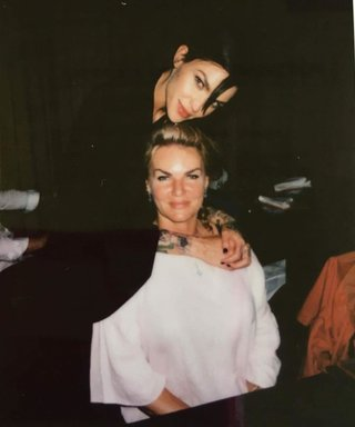 Ruby Rose Looks Just Like Her Mom in This Instagram Pic