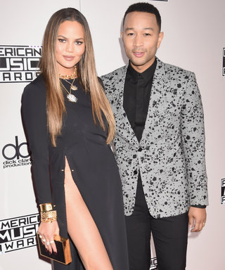 Chrissy Teigen Took Home the Award for Most Naked Dress at the AMAs