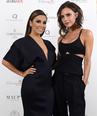 Eva Longoria and Victoria Beckham Are #Twinning at the Global Gift Gala in London