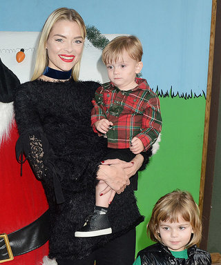 Jaime King Gets Festive with Her Sons at Knott's Berry Farm