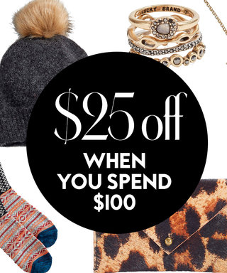 Get $25 Off a $100 Purchase at Lucky Brand