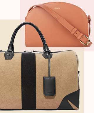 The Secret to Being a Stylish Traveler? These Chic Handbags and Carry-On Suitcases