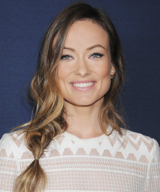 Olivia Wilde Gets Back to Work with a Very Cute (and Tiny) Co-Worker