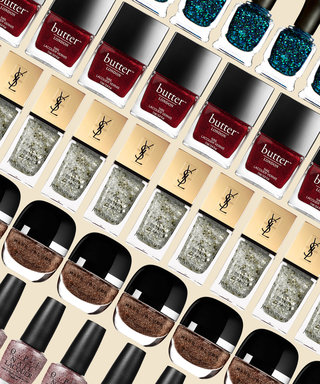 Glitter Nail Polishes That are the Definition of Holiday Glam