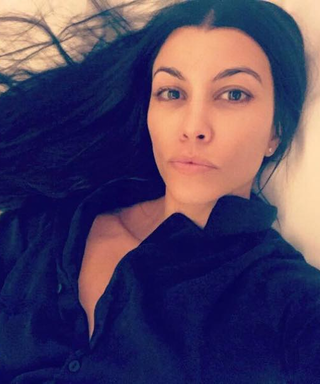 Kourtney Kardashian Shares a Stunning Fresh-Faced Selfie