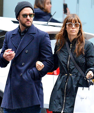 Justin Timberlake and Jessica Biel Are Totally Twinning in N.Y.C.