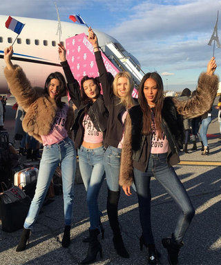 The Victoria's Secret Models Jet Off to Paris: See Their 'Grams