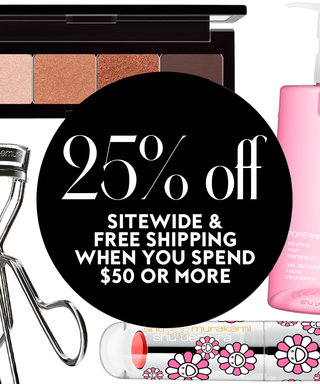 30 Days of Deals: 25% Off Site Wide & Free Shipping at Shu Uemura