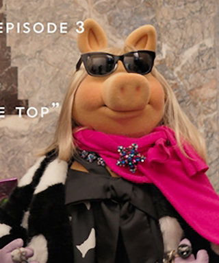 Watch Zosia Mamet and Miss Piggy's Fashion Face-Off in Kate Spade
