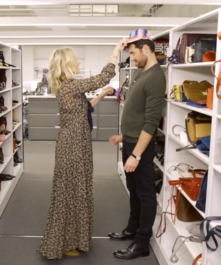 Watch Billy Eichner and InStyle's Laura Brown Play Around in Our Fashion Closet