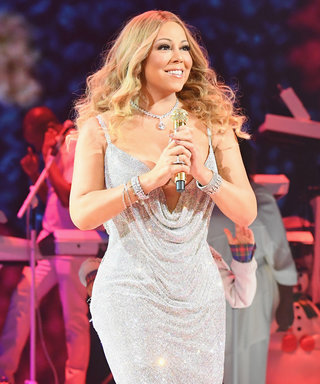 Mariah Carey Has a Christmas Light Show on the Empire State Building